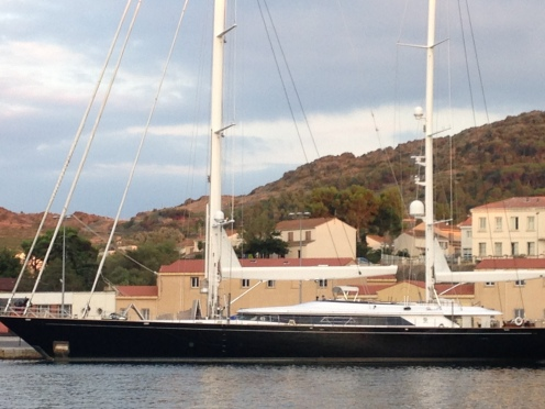 S/Y Parsifal III Port Vendres