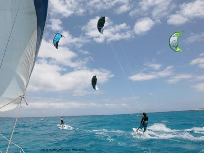 kite-sailing