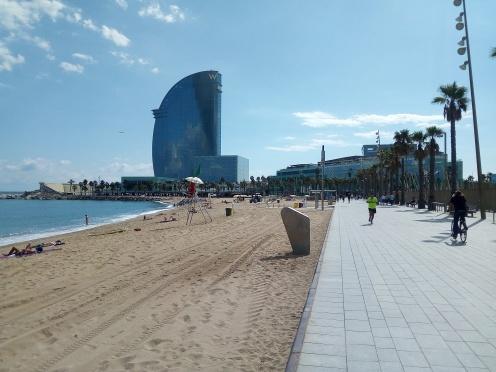 Barcelona Beach W Hotel